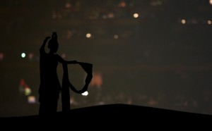 Silhouted Dancer - Olympics 2008