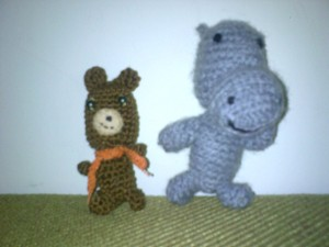 Mr Bear and Mr Hippo