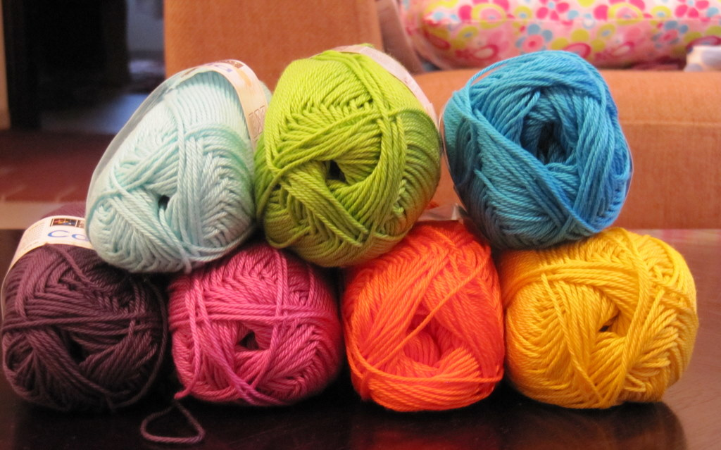 Color Me Happy Crochet Yarn