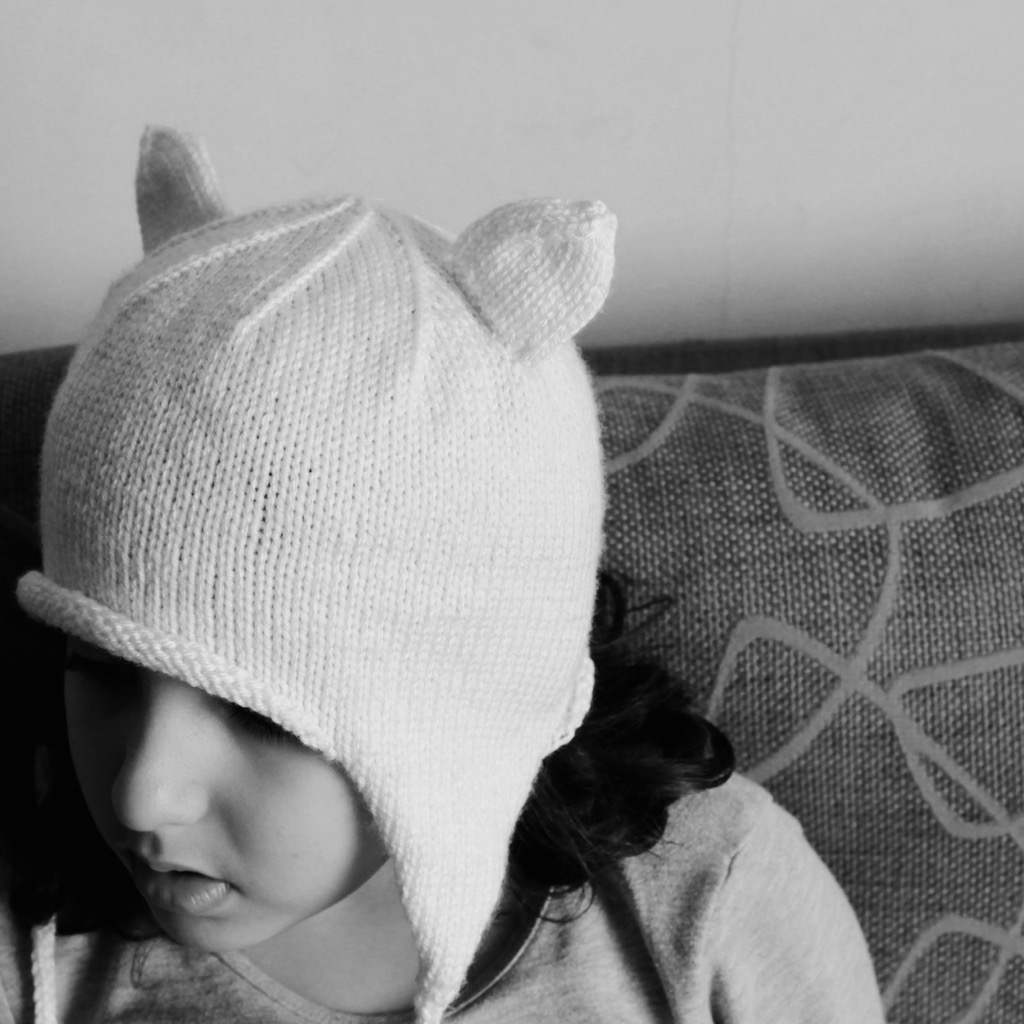 Knitty Kitty Cat Hat